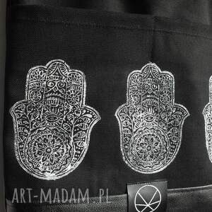 czarne torebki orientalny torebka hamsa