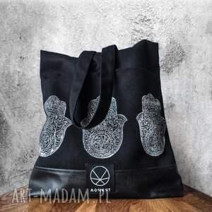 torebki rękodzieło torebka hamsa