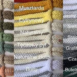 modne torebki torba torebka makramowa - kolor perłowy