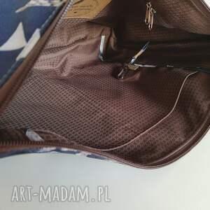torebka torebki niebieskie midi wodoodporna - wilk &