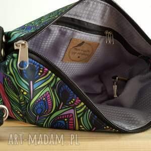 torebki torebka mini pawi tren & frędzel