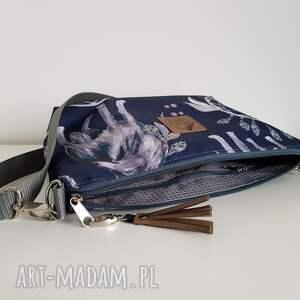 modne torebki torebka mini wodoodporna - wilk &