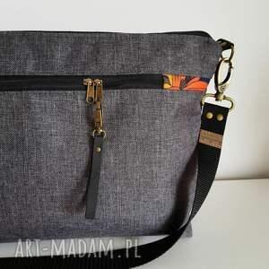 handmade torebki lilie torebka mini plus pocket