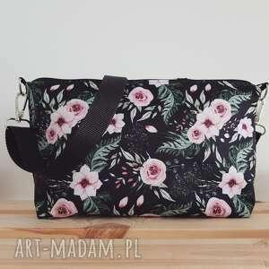 torebka torebki brązowe mini & brelok frędzel washpapa - boho