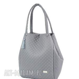 handmade torebki pikowana torebka simple 1184