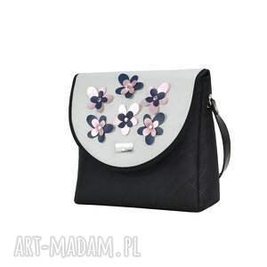 ręcznie wykonane torebki puro classic torebka 2304 flower