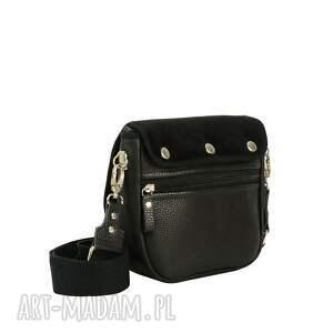 ręczne wykonanie torebki puro classic torebka saszka 2418 black