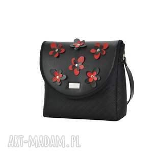 frapujące torebki puro classic torebka 2303 flower