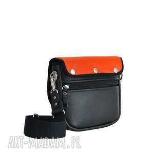 pomarańczowe torebki puro torebka saszka 2511 orange