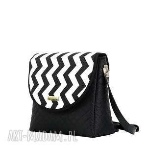 ręcznie robione torebki folk torebka puro 265 black&white