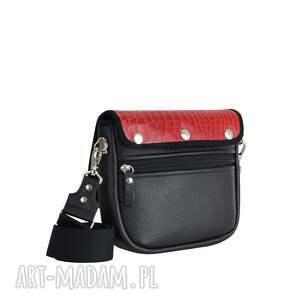 czerwone torebki puro torebka saszka 2515 red