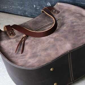 handmade torebki duża torebka skórzana torba ręcznie