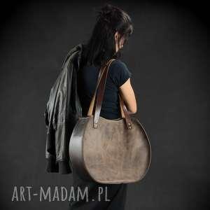 duża torebki torebka skórzana torba ręcznie