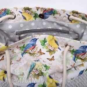urokliwe torebki kolorowa torebka w kształcie worka w piękny