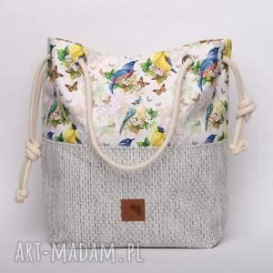 torebki ptaki torebka w kształcie worka w piękny
