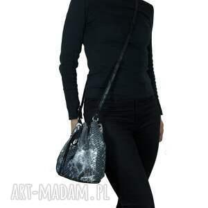 czarne torebki torebka woreczek