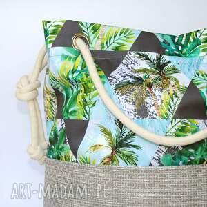 eleganckie torebki torebka worek palmy rączki ze