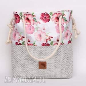 torebki kwiaty torebka worek w piękny kwiatowy