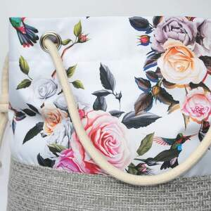 torebki kwiaty torebka worek ptaki rączki