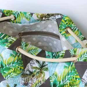 torebki wakacyjna torebka worek palmy rączki ze