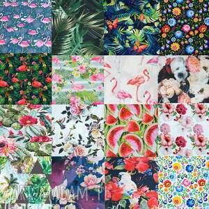 kwiaty torebki torebka worek w piękny kwiatowy
