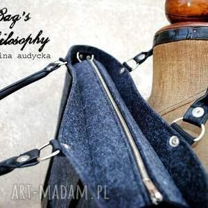 czarne torebki folc tote classic black