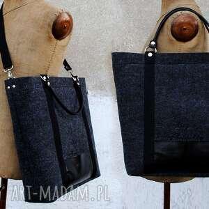 wyjątkowe torebki folc tote classic black