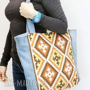 hand made torebki boho w stylu