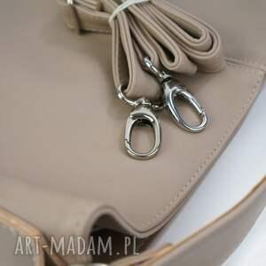 ręcznie zrobione torebki xxl worek beżowy cappuccino