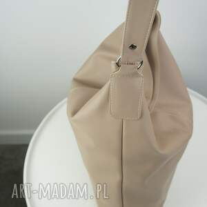xxl torebki worek beżowy cappuccino