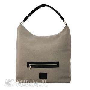 torebki torba worek xl z kieszonką w paski