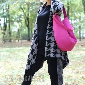 niepowtarzalne torebki torba workowata z ekologicznego