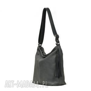 gustowne torebki torba wygodna torebka ze skóry w kolorze