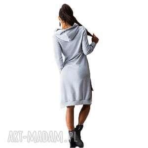 gustowne tuniki sukienki bawełniana tunika z kapturem