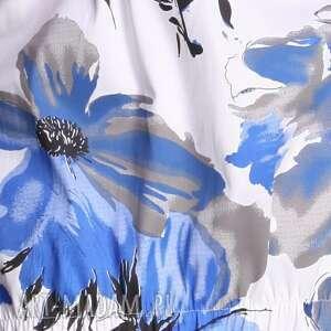 białe tuniki wiosna martine - tunika niebieska