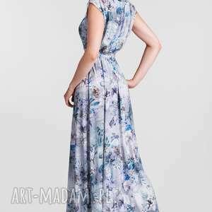 turkusowe tuniki maxi sukienka nerea frezja