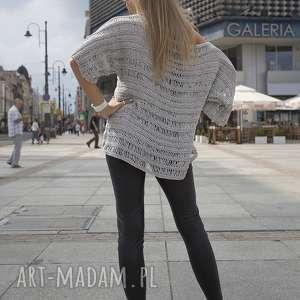 tuniki top sweter z wydłużonymi oczkami