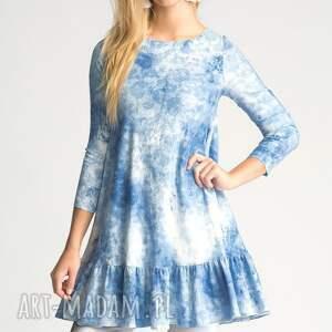 niebieskie tuniki sukienka tunika angel mini sky