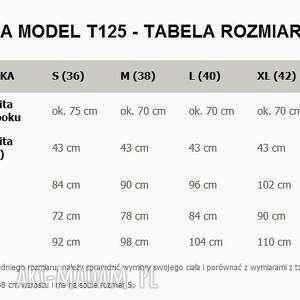 asymetryczna tuniki tunika t125