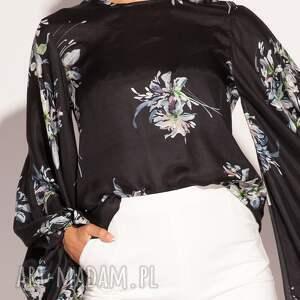 jedwabna czarne tunika azra