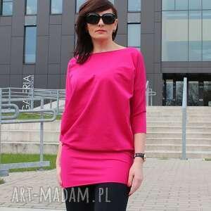 nietypowe tuniki sukienka tunika bluzka dresowa oversize midi