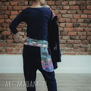 bluza i-spodnie ubrania dres damski mosaic - granatowy