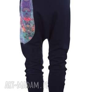 Dres damski Mosaic - granatowy - bluza i spodnie