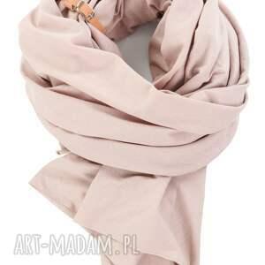 nietypowe ubrania duży szal z bawełny organicznej