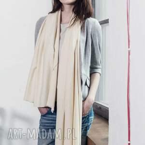 ubrania prezent duży szal z bawełny organicznej
