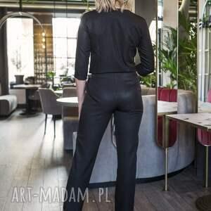 LANTI urban fashion ubrania kombinezon elegancki, kb108 czarny