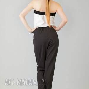 czarne ubrania kombinezon tatiana