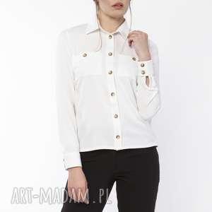 oryginalne ubrania casual koszula damska z dłuższym tyłem