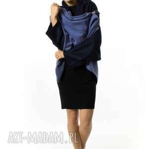 ręcznie wykonane ubrania okrycie-wierzchnie narzutka damska kardigan |