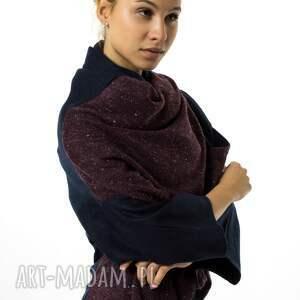 ubrania uniwersalna narzutka wełniana kardigan |